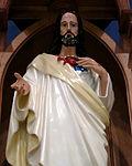 Saint Ann Catholic Church (Dresden, Ohio) - Sacred Heart statue.JPG