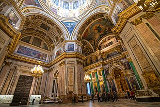 Saint Isaac's Cathedral - St. Isaac's Cathedral Interior