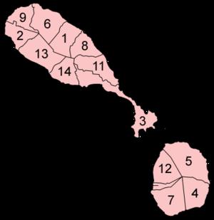 Parroquias de San Cristóbal y Nieves