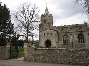 Great Shelford - Image: Saint Mary the Virgin, Great Shelford