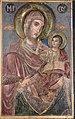 Saint Mary wih Christ Icon by Dicho Zograf in Saint Kyriaki Church in Debrene, 1844.jpg