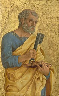 Saint Peter apostle and first pope