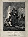 Saint Peter Claver. Engraving by J. Vitta after P. Gagliardi Wellcome V0032875.jpg