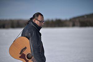 Indigenous music of Canada - Atikamekw musician Sakay Ottawa