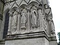 Salisbury Cathedral- statues on the west wall - geograph.org.uk - 1900834.jpg