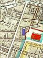 Salle Feydeau on 1814 map of Paris (in blue).jpg