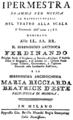Salvatore Rispoli - Ipermestra - titlepage of the libretto - Milan 1786.png