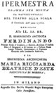 Salvatore Rispoli - Ipermestra - titlepage of the libretto - Milan 1786.png