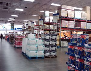 Sam's Club - A Sam's Club in California.