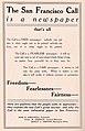 San Francisco Call Newspaper ad 1911.jpg
