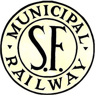 San Francisco Municipal Railway - O'Shaughnessy logo (dated)