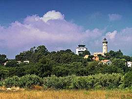 The lighthouse of Alistro, in San-Giuliano