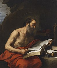 The penitent Saint Jerome