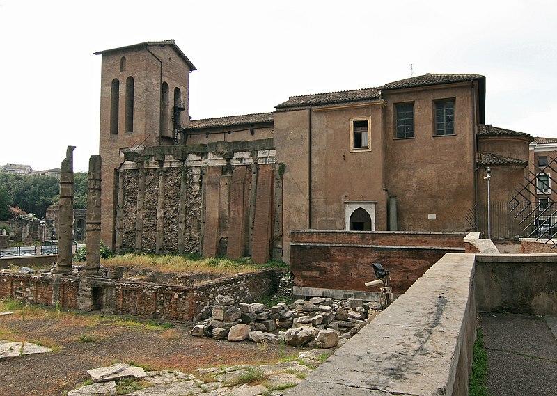 File:San Nicola in Carcere Rome.jpg