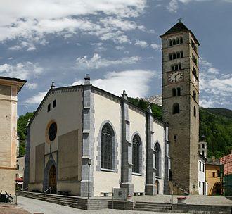 Poschiavo - Church of San Vittore in Poschiavo