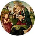 Sandro botticelli - virgem com o menino e são joão batista criança 04.jpg