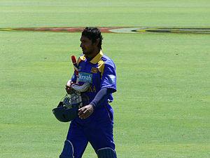 Sri Lankan cricketer Kumar Sangakkara