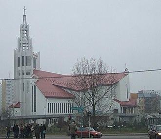 Divine Mercy Sanctuary (Białystok) - The Church
