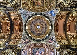 Sant'Andrea della Valle - Windows on the ceiling, allowing natural light to illuminate the interior