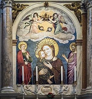 Stefano da Ferrara - Madonna del Pilastro, Basilica of Saint Anthony of Padua