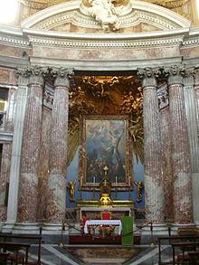 Altare maggiore di Sant'Andrea al Quirinale