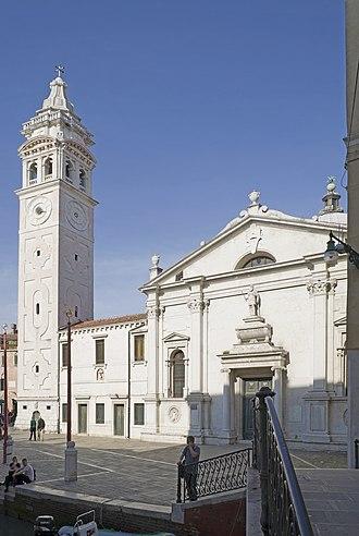 Santa Maria Formosa - Image: Santa Maria Formosa Facciata e campanile 2
