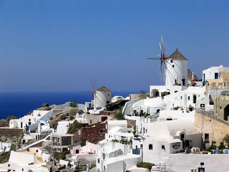 Datoteka:Santorini Oia Windmills.JPG