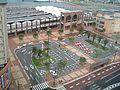 Sasebo station east entrance view 20070725.jpg