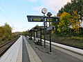 Savenäs pendeltågsstation Göteborg oktober 2013.jpg