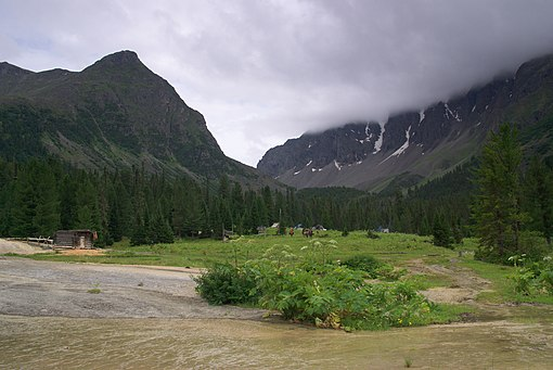 View of the Sayan Range in Northern Tuva. Sayan 080721 218 3724.jpg