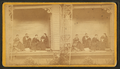 Scene on porch of house of C. C. Merrill. Galesburg, Ill, from Robert N. Dennis collection of stereoscopic views.png