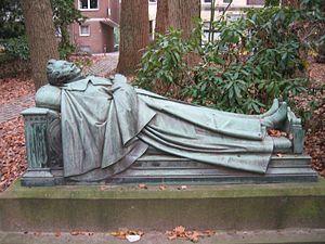 Ludwig Freiherr Roth von Schreckenstein - Schreckenstein's grave in Munster