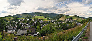 Willingen - Panoramaview over Schwalefeld