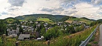 Willingen - Panoramaview over Schwalefeld