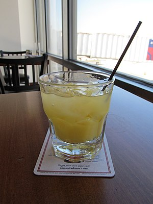 Screwdriver (cocktail) - Screwdriver at the Birmingham-Shuttlesworth International Airport