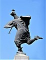 Sculpture of Olympian god of trade in Yerevan 01.jpg