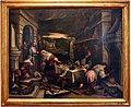 Scuola di jacopo e francesco bassano, cristo nella casa di marta e maria a betania, 1610 ca.jpg