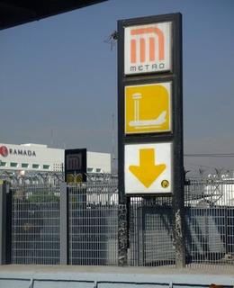 Metro Terminal Aérea Mexico City metro station