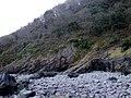 Sea cliffs below Culbone Wood - geograph.org.uk - 1739235.jpg