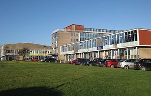 Colin Burgon - Foxwood School in Seacroft where Burgon was employed.