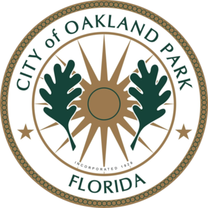 Oakland Park, Florida - Image: Seal of Oakland Park, Florida