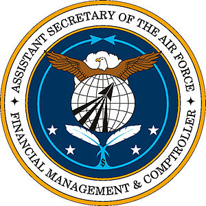 Assistant Secretary of the Air Force (Financial Management & Comptroller) - Image: Seal of SAFFM