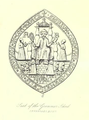 Seal of the Grammar School, Sevenoak - 'Page Notes on the churches in the counties of Kent, Sussex, and Surrey djvu 189 - Wikisource'.png