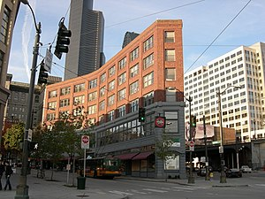 Francis X. Prefontaine - The Prefontaine Building in Seattle on Prefontaine Place S.