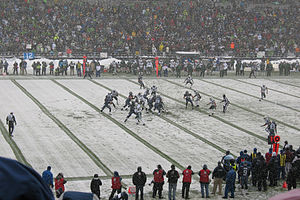 2008 NFL season - Seattle and the New York Jets play on December 21, 2008
