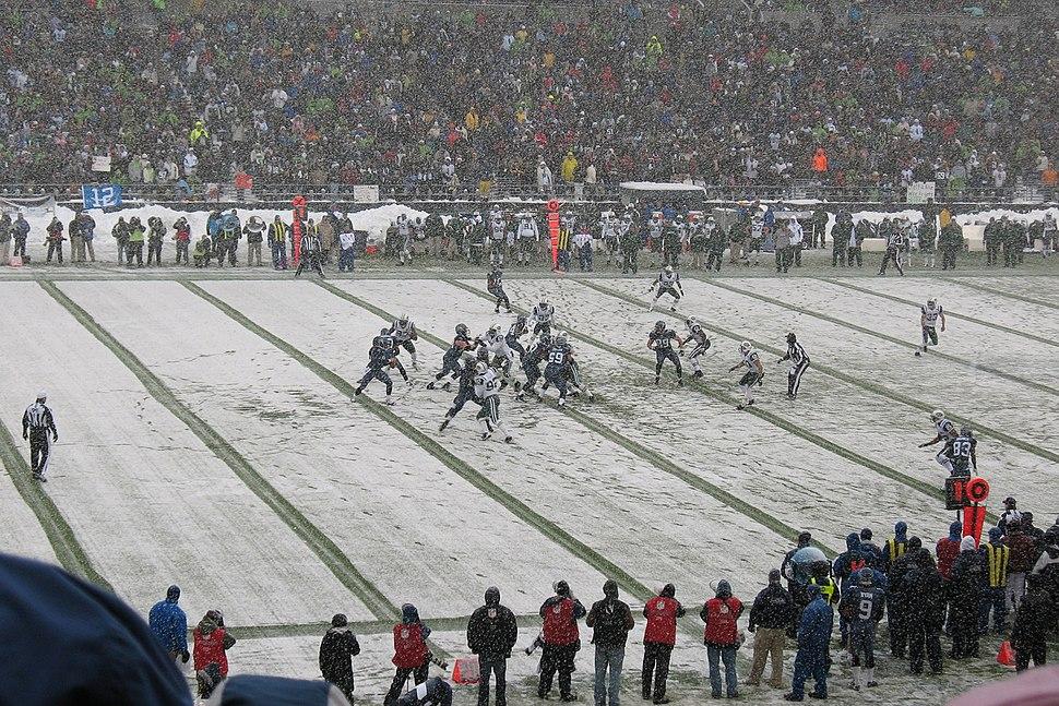 Seattle Seahawks vs NY Jets Dec 21 2008