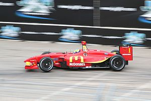 Sébastien Bourdais - Bourdais winning the 2007 Grand Prix of Houston.