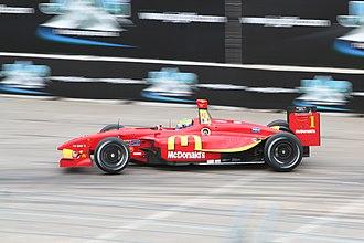 Sébastien Bourdais - Bourdais winning the 2007 Grand Prix of Houston.