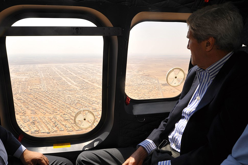 Secretary Kerry Views the Mrajeeb al-Fhood Camp for Syrian Refugees.jpg
