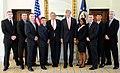 Secretary Kerry and Ambassador Thorne With Marine Security Guards.jpg